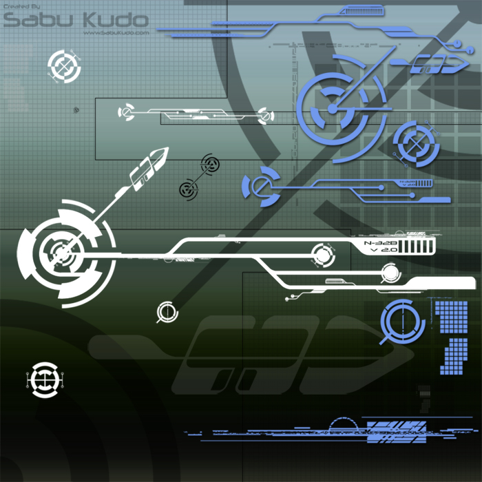 SK Tech Brush Set 1 by Sabu-Kudo
