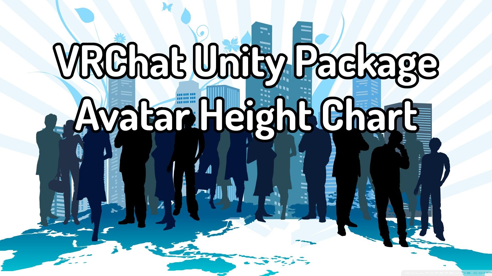 VRChat] - Avatar Height Chart by DJWolf-3 on DeviantArt