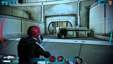 Custom Mass Effect Style HUD by A-Very-Merry-Q