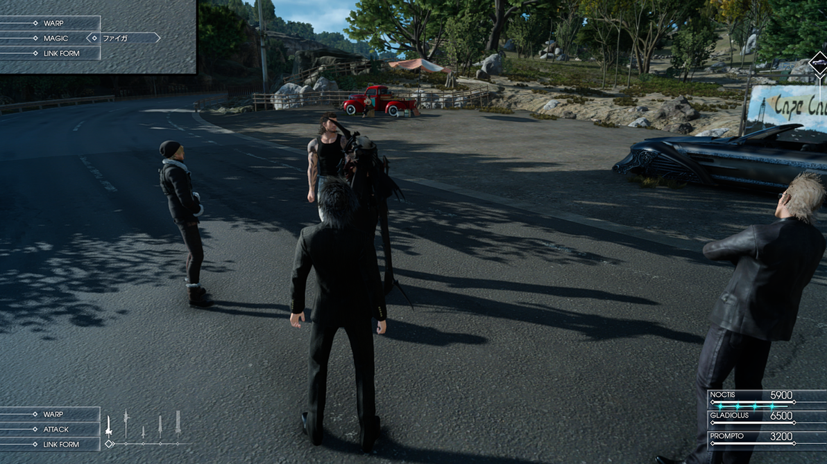 Final Fantasy XV E3 Style HUD [DOWNLOAD] by A-Very-Merry-Q