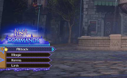 Kingdom Hearts 3 - Daybreak Town Command Menu [DL] by A-Very-Merry-Q