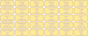 Art Status Yellow Set 01