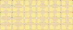 Art Status Yellow Set 01 by Xipako