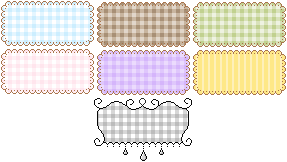 Blank Buttons/Base by Xipako