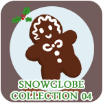 Glade of Dreams Snowglobe Collection: Gingerbread