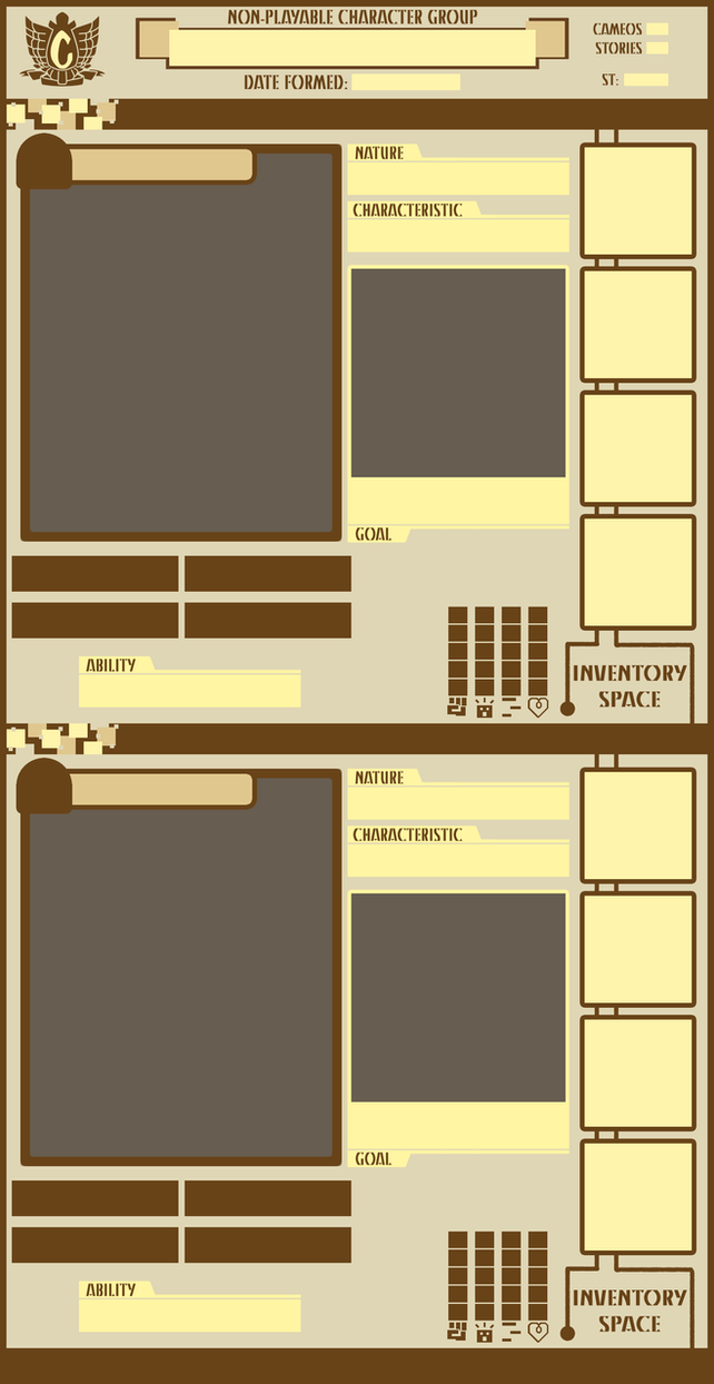 PMDu NPC App (Blank) by thebigbadbasenji