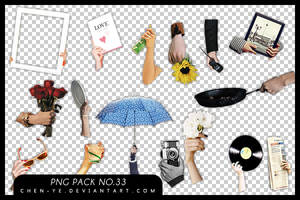 png pack 33 Hand by Chen-Ye by Chen-Ye