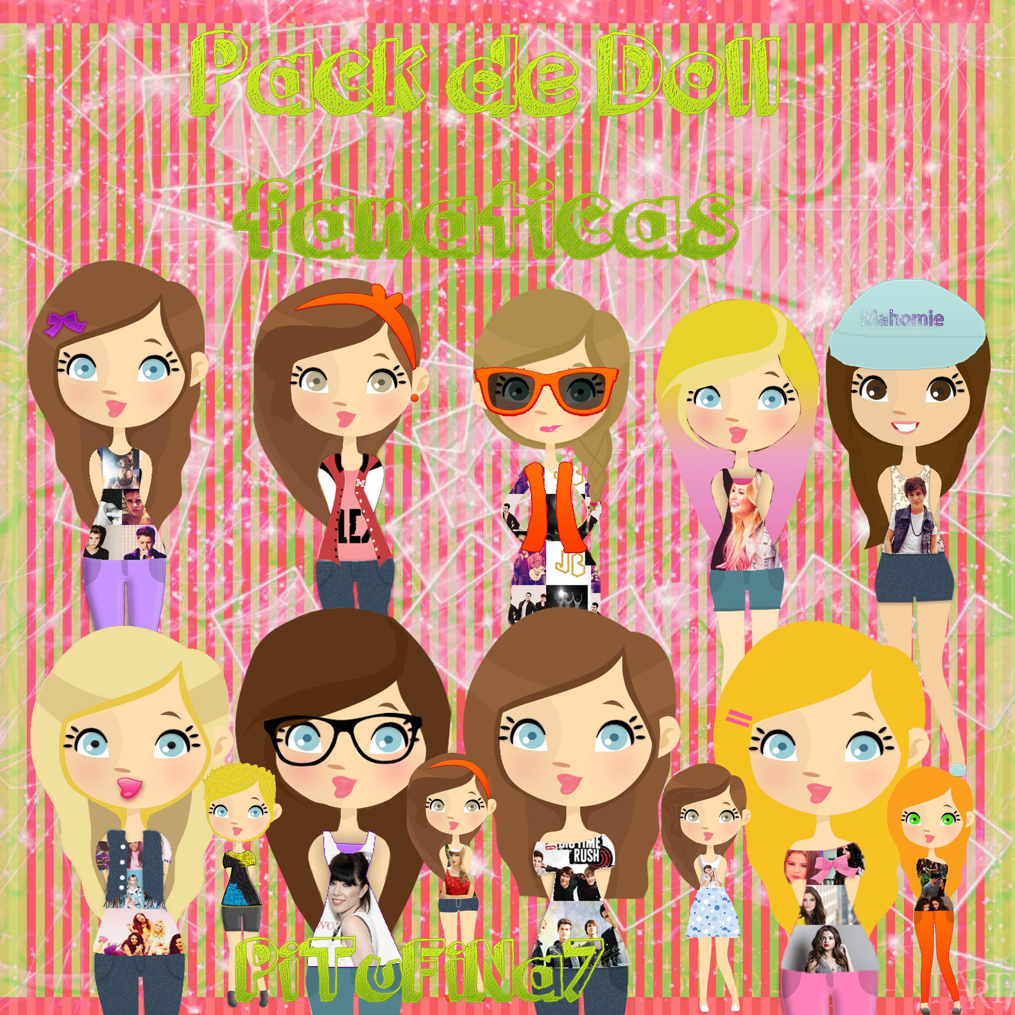 Pack de Doll Fanaticas RAR by PiTuFiNa7