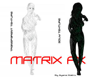 matrixFX materials for Poser 5 by AyaneMatrix