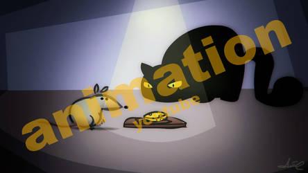 mouse vs trap by Anto-Z