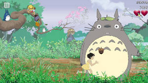 Totoro's snacks animation