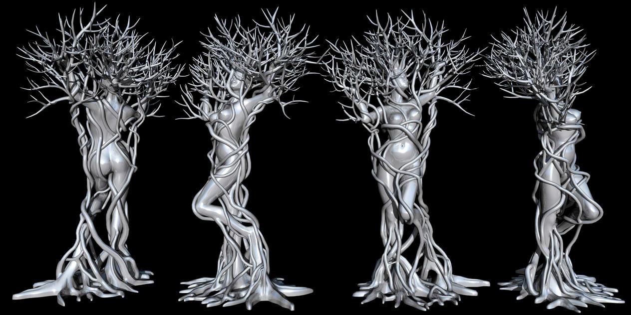 Human Tree by xmas-kitty
