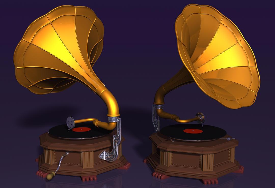 Pueden Hacer Estos Mods Cool! Gramophone_by_xmas_kitty-d6m6arx