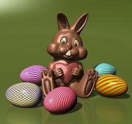 Happy Easter (3d Models)