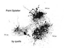 paint splatter by quells
