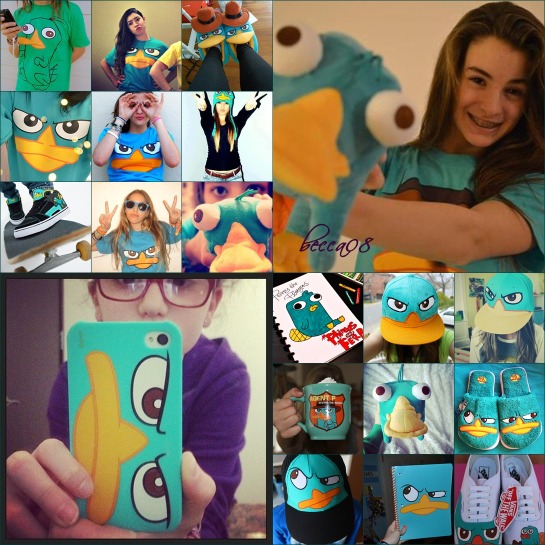 Imagenes para editar, Perry the platypus #03 by BeccaStiefvater08