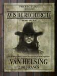Avis de recherche Van Helsing