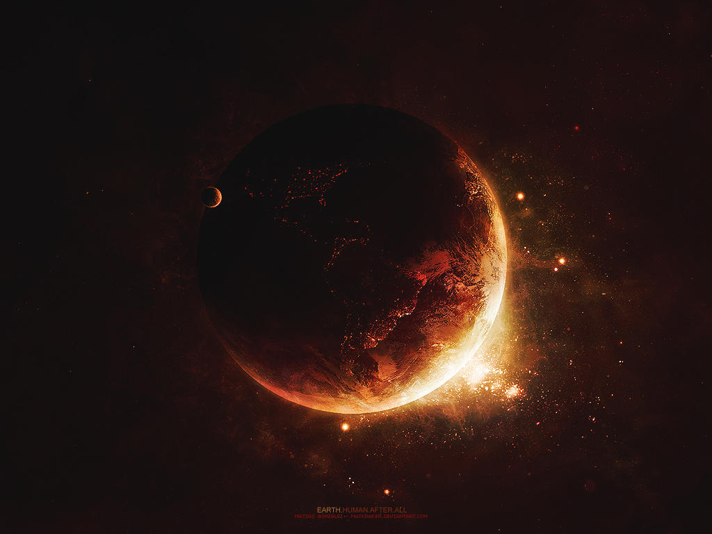 earth...human.after.all by Matkraken