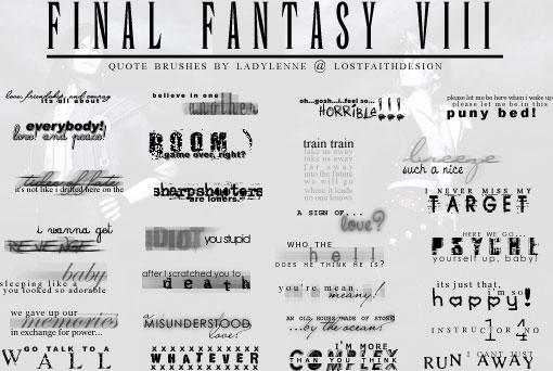 Final fantasy viii quotes by tifalenne on deviantart final fantasy viii quotes by tifalenne voltagebd Images