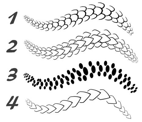 Scale Brush Pack 1