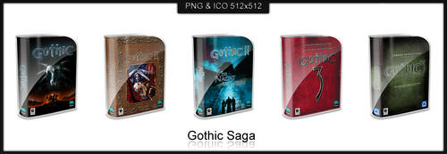 Vista Box - Gothic Saga by HailToTheFreak