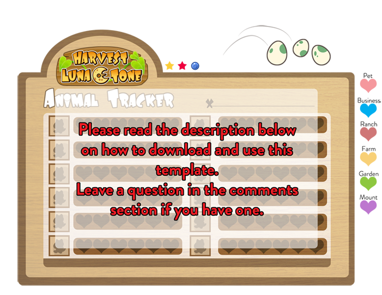 Harvest Lunatone Animal Tracker