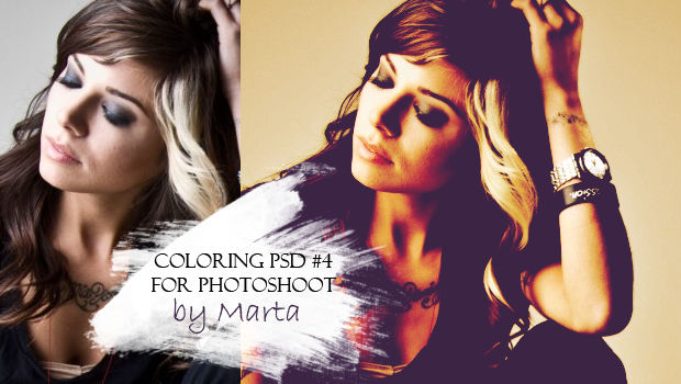 Coloring #4 - PHOTOSHOP
