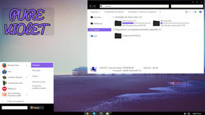 New theme for w7 - More Violet