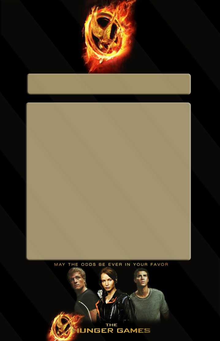 Hunger Games - Journal Skin by ShadowJournals