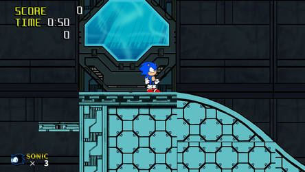 Sonic AGES Build 13 by juicethehedgehog