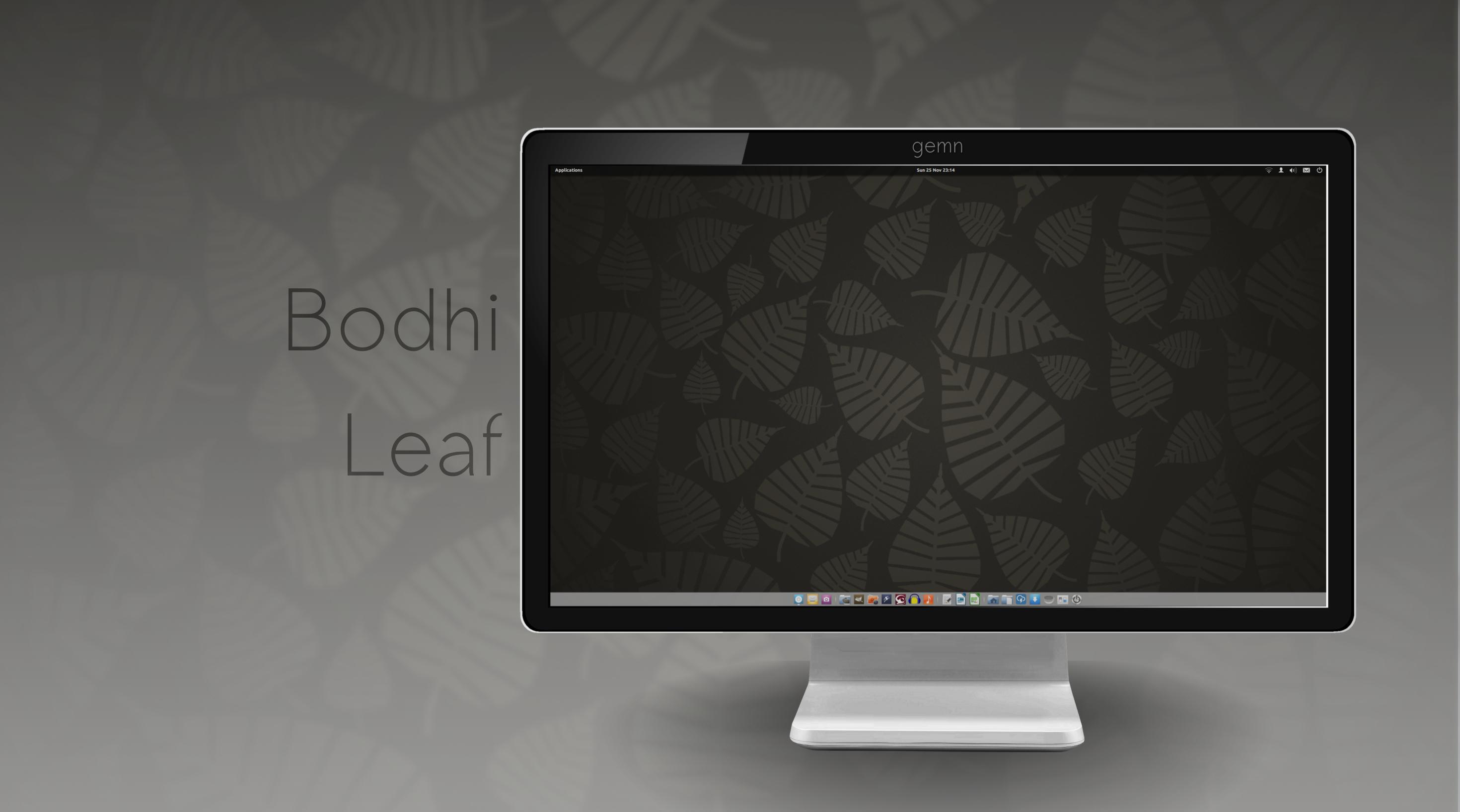 Bodhi Leaf Wallpaper by Gemneroth
