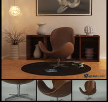 Classic Egg Chair by LuxXeon