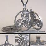 Free Celtic Amulet Model (Triskele)