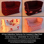 Free Valentine Texture Addon (For Bag Chair)