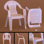 Plastic Chair (Free Model)