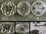Modern Wall Clocks (free models)