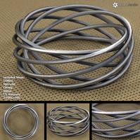 Spiral Bracelet (free 3D model) by LuxXeon