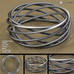 Spiral Bracelet (free 3D model)