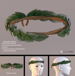Laurel Wreath (free 3D model) by LuxXeon