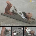 Realistic Wood Plane (Free 3D Model)