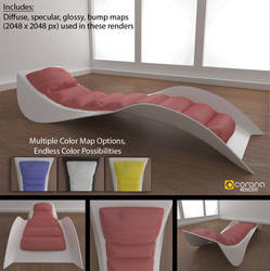 Free 3D Model: Cosmo Chaise by LuxXeon