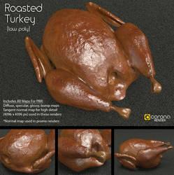 Free 3D Model: Roasted Turkey by LuxXeon