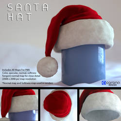 Free 3D model: Santa Hat by LuxXeon