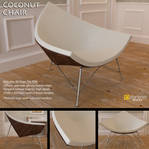 Free 3D Model: Coconut Chair