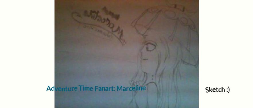 Adventure Time Fanart: Marceline 1 by SketchtheArtist88