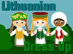 Lithuanian Folk Costume Dress Up Game
