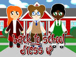 Back to School Dress Up Game