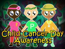 Childhood Cancer Awareness Day Dress Up Game by xVanyx