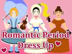 Romantic Era Dress Up Game