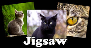 Triple Cat Jigsaw Puzzle Game